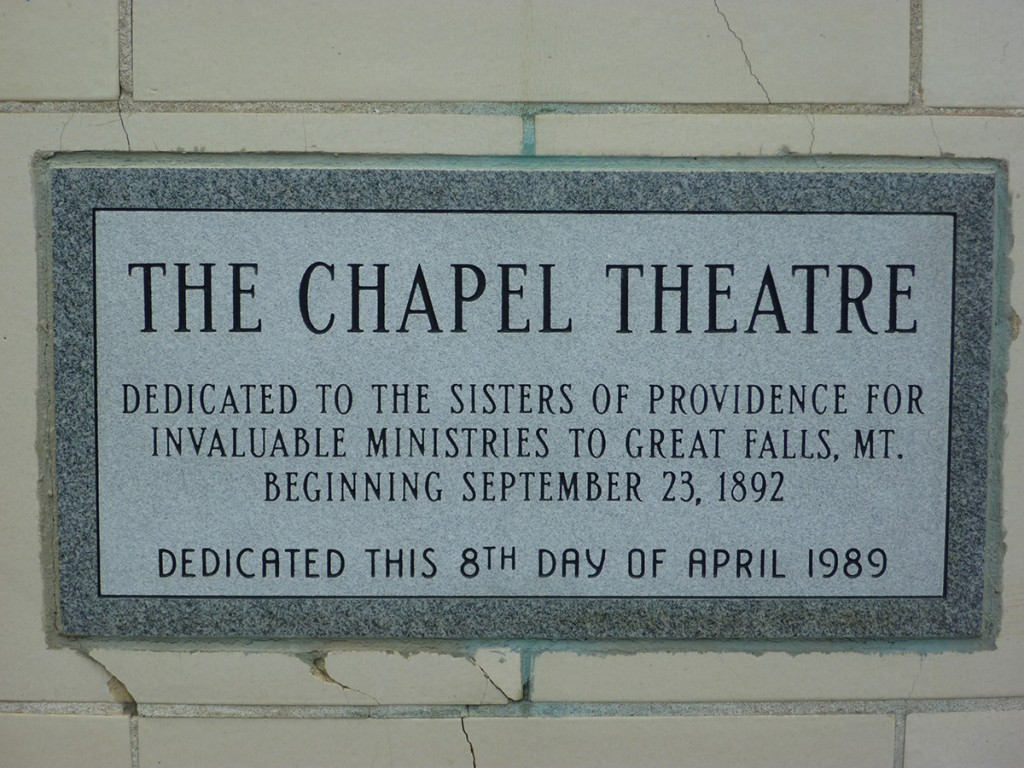 The Chapel Theatre is a great gathering place for your next event, wedding or business luncheon.